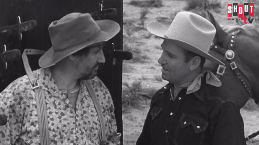 The Gene Autry Show: S2 E23 - Trouble At Silver Creek