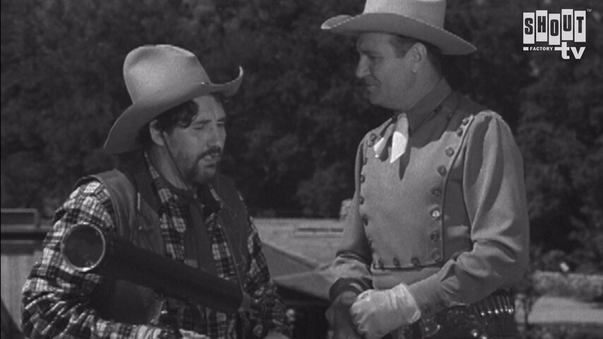 The Gene Autry Show: S3 E1 - Thunder Out West