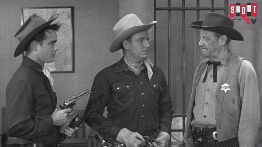 The Gene Autry Show: S4 E1 - Santa Fe Raiders