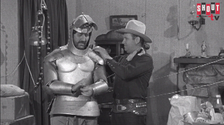 The Gene Autry Show: S4 E13 - Outlaw Warning
