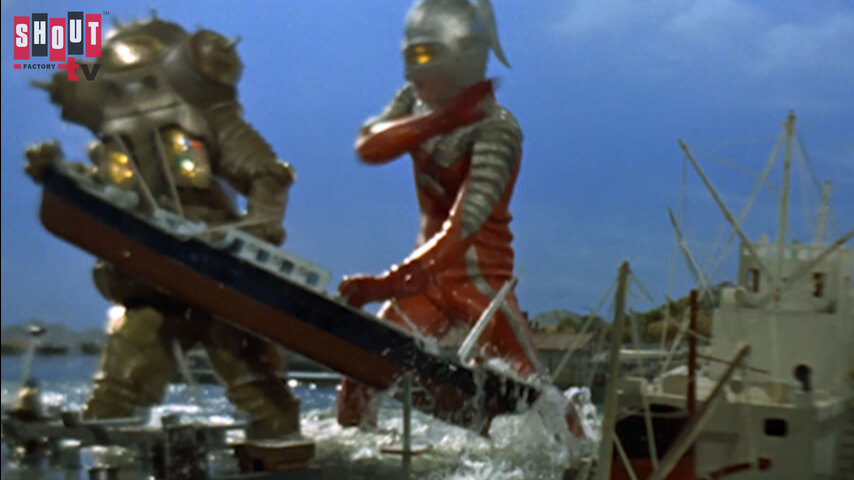 Ultraseven: S1 E15 - The Ultra Guard Goes West, Part 2