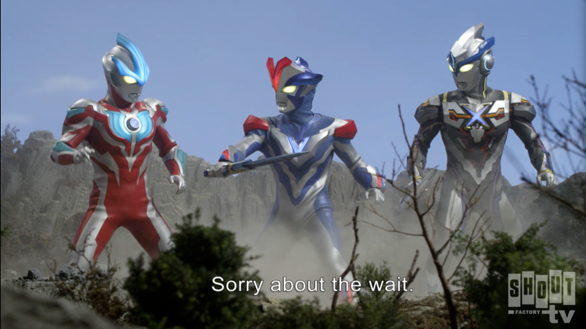 Ultraman X: S1 E14 - The Shining Sky, And The Land Beneath It