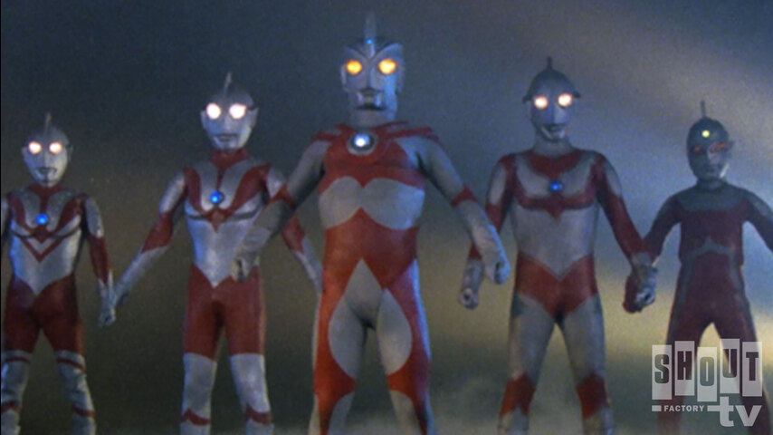 Ultraman Ace: S1 E1 - Shine! The Five Ultra Brothers