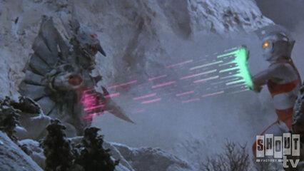 Ultraman Ace: S1 E42 - Winter Horror Series – Mystery! Monster Woo Rises Again