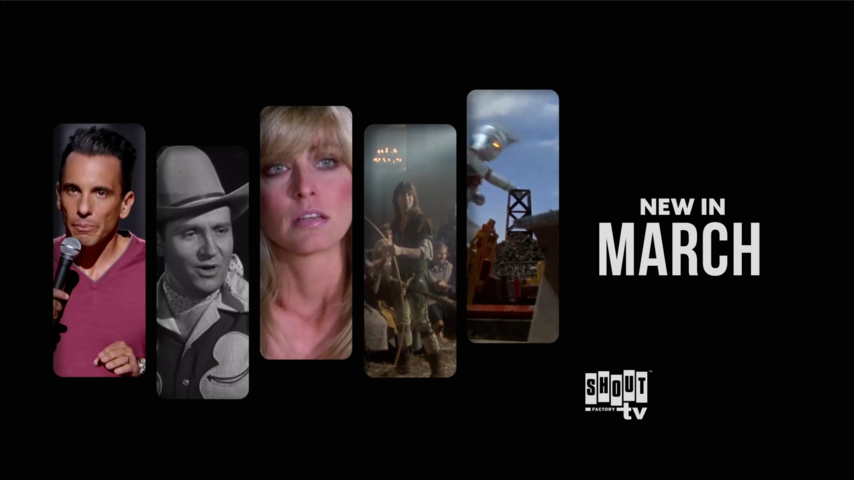 See What's New on Shout! Factory TV in March!