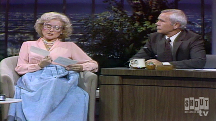 The Johnny Carson Show: Comic Legends Of The '80s - Betty White (11/12/81)
