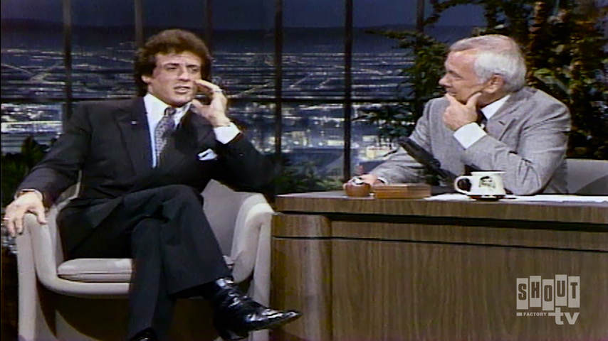 The Johnny Carson Show: Hollywood Icons Of The '70s - Sylvester Stallone (5/21/82)