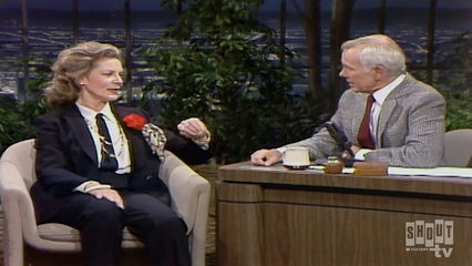 The Johnny Carson Show: Hollywood Icons Of The '50s - Lauren Bacall (6/23/83)