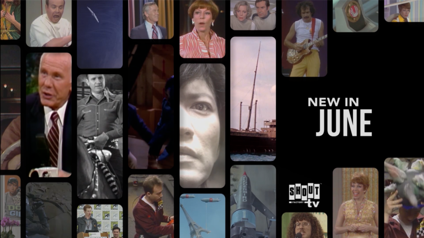 See What's New on Shout! Factory TV in June!