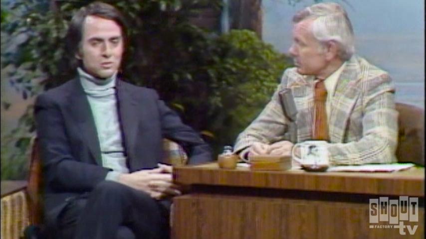 The Johnny Carson Show: TV Icons - Carl Sagan (3/25/77)