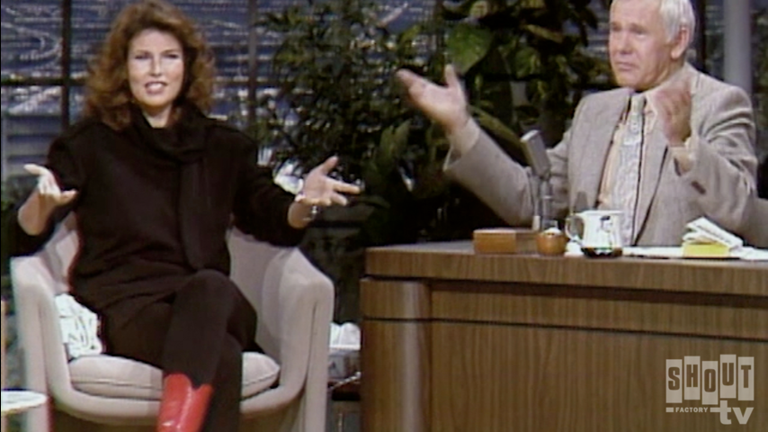 The Johnny Carson Show: Hollywood Icons Of The '60s - Raquel Welch (11/21/80)