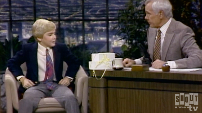 The Johnny Carson Show: Hollywood Icons Of The '80s - Ricky Schroder (11/9/82)