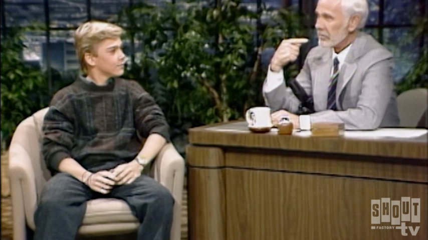 The Johnny Carson Show: Hollywood Icons Of The '80s - Ricky Schroder (2/6/85)