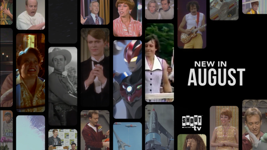 See what's new on Shout! Factory TV in August!