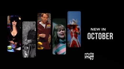 See what's new on Shout! Factory TV in October!