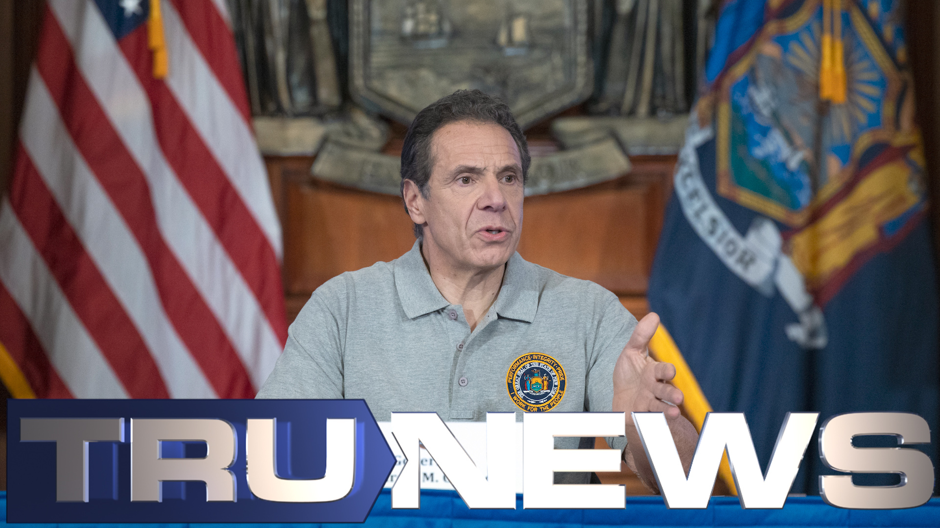 New York Gov. Cuomo Press Conference 3-25