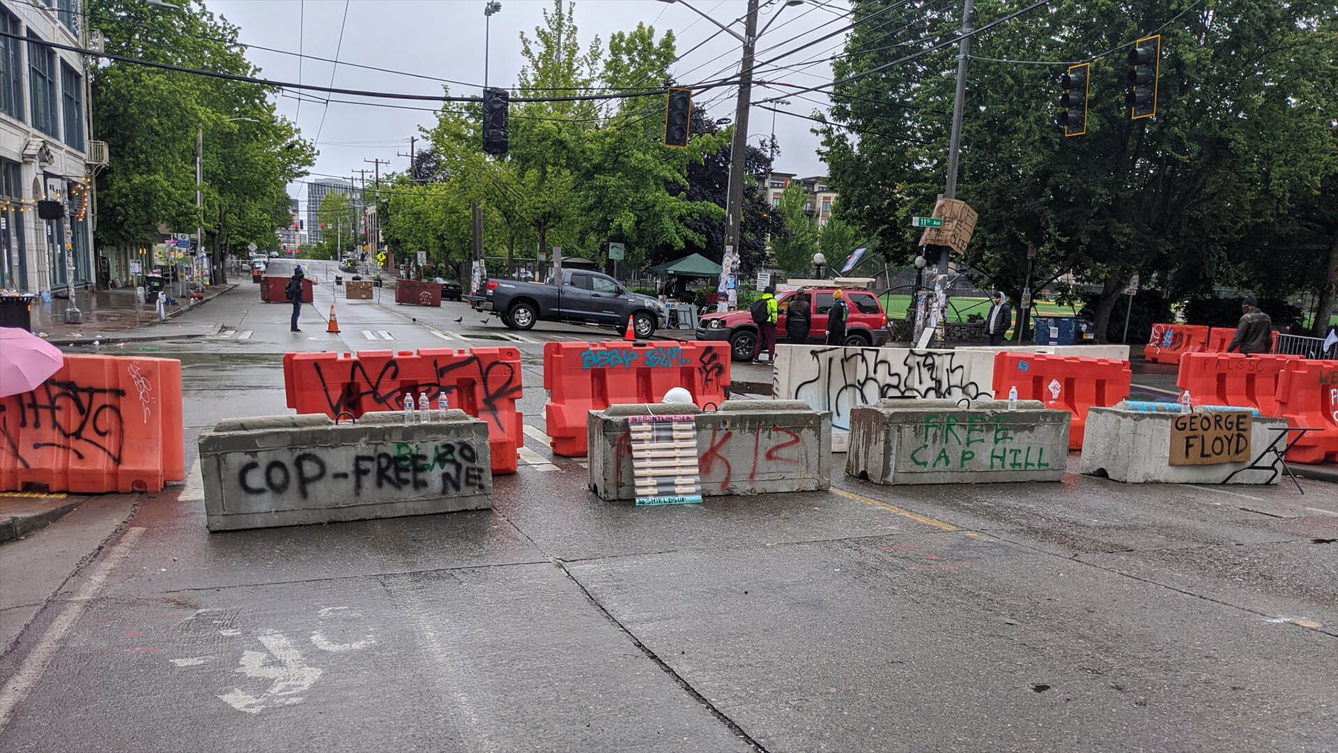 Seattle Antifa Takes Over City's Capitol Hill District