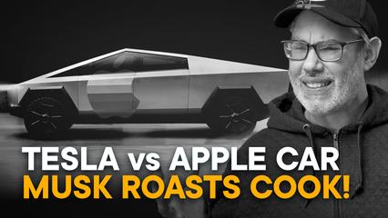 Tesla vs. Apple Car — Elon Roasts Tim! [FULL]