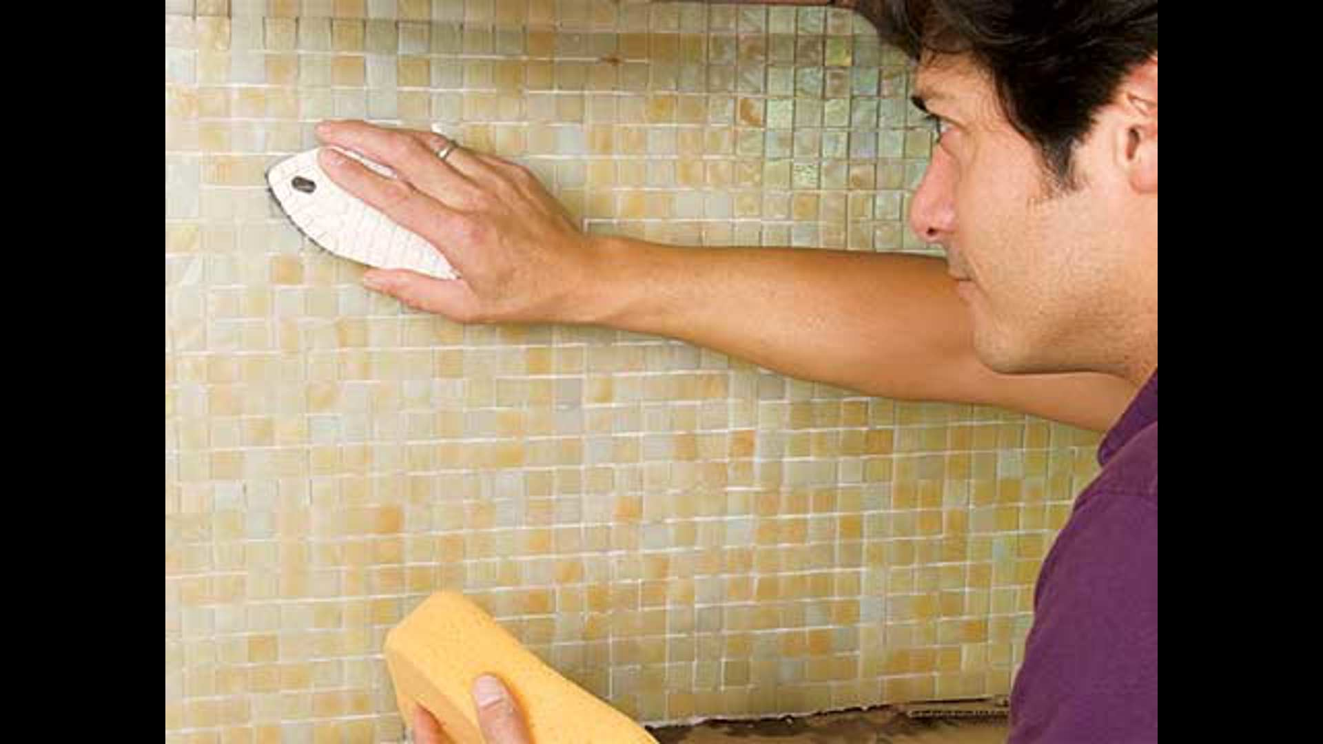 How To Install A Gl Mosaic Tile Backsplash This Old House