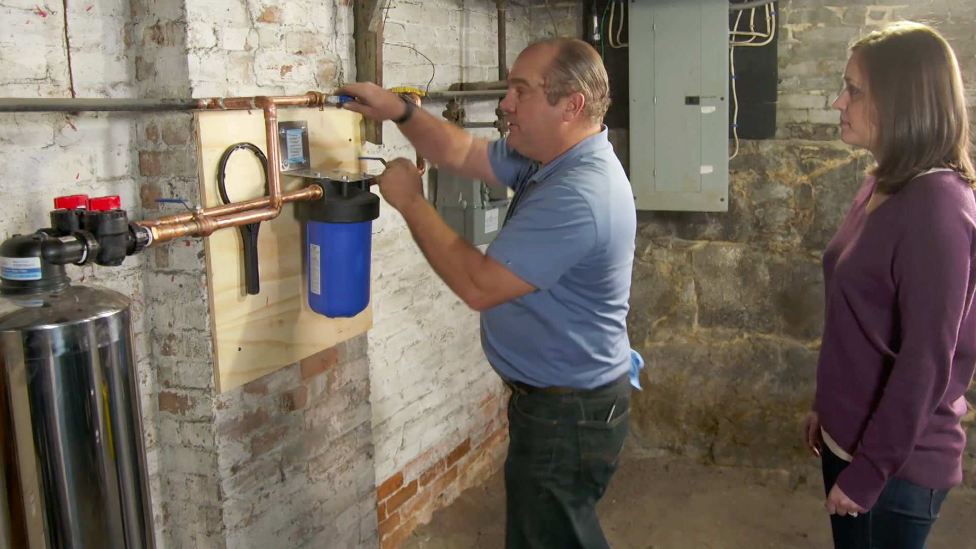 How To Install A Whole House Water Filter This Old House