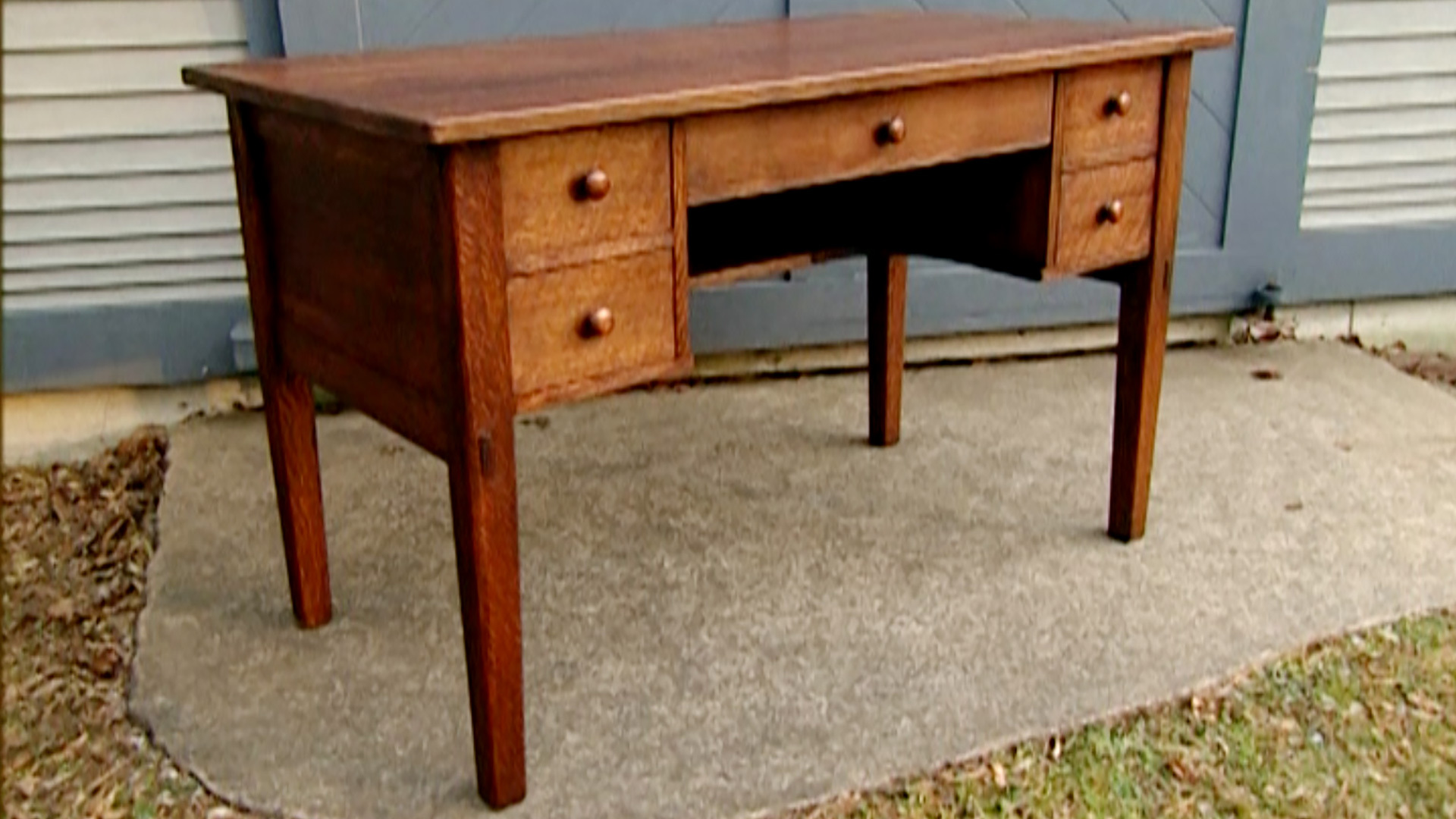 Mission Style Desk New Yankee