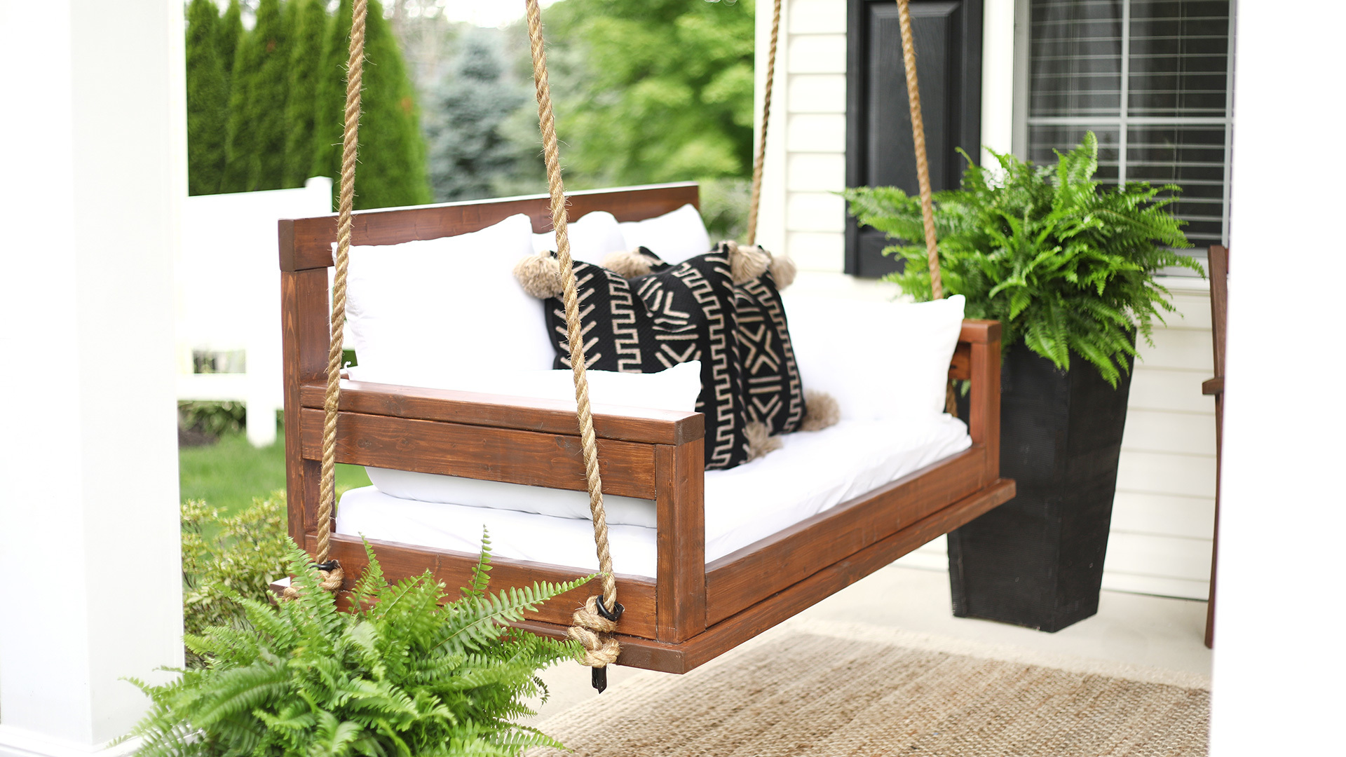 How To Build A Porch Swing This Old House