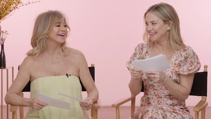 Famous Movie Lines with Goldie Hawn and Kate Hudson