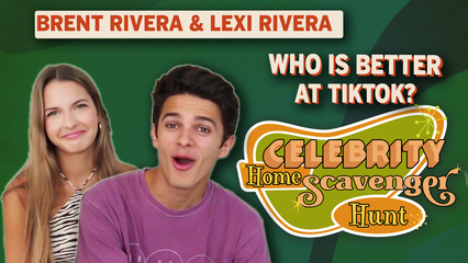 Celebrity Home Scavenger Hunt: Brent Rivera & Lexi Rivera TikTok & YouTube Advice