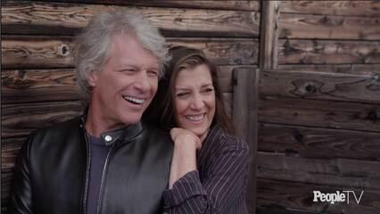 Jon Bon Jovi & Wife Dorothea