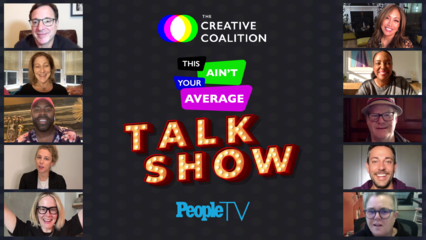 The Creative Coalition: This Ain't Your Average Talk Show