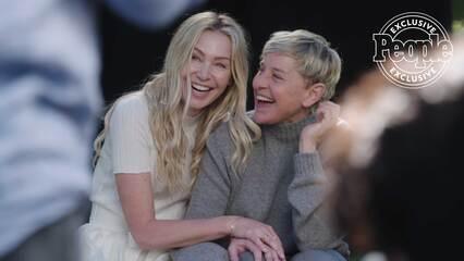 The Love Issue: Ellen DeGeneres & Portia de Rossi