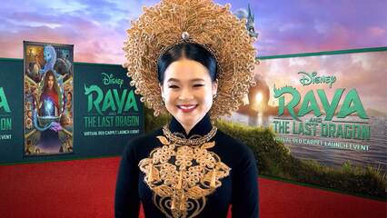 Raya and the Last Dragon Virtual Red Carpet Event