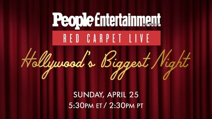 Red Carpet Live: Hollywood's Biggest Night 2021 (Promo)