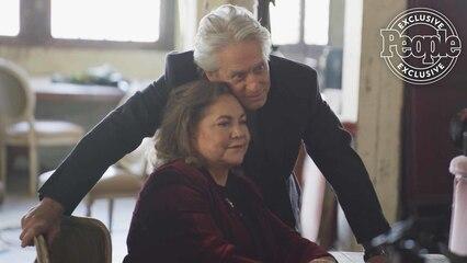 Michael Douglas & Kathleen Turner