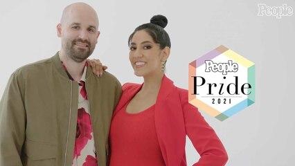 Pride 2021: Stephanie Beatriz & Brad Hoss