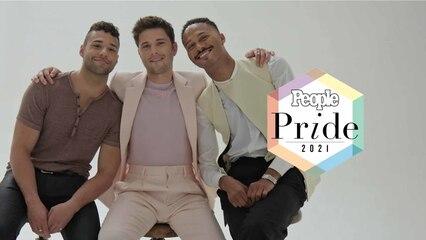 Pride 2021: Ronen Rubinstein, Rafael Silva & Chaise Dennis