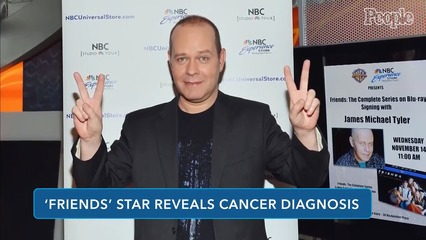 06/24/21   Friends Star James Michael Tyler Reveals Cancer Diagnosis + Screen Time with Jamie Chung