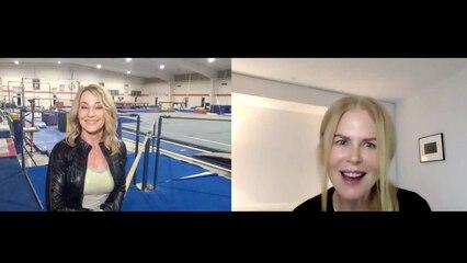 Nicole Kidman Meets Nadia Comaneci