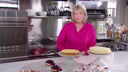 Martha Bakes: Cheesecake