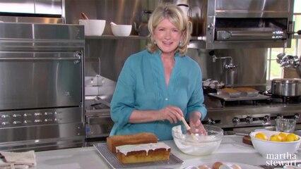 Martha Bakes: Pound Cake
