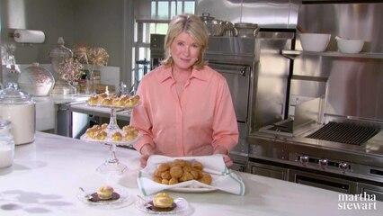 Martha Bakes: Pâte à Choux