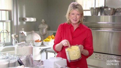 Martha Bakes: Pâte Sucrée