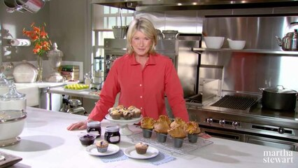 Martha Bakes: Muffins & Popovers