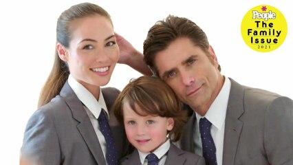 The Family Issue 2021: John Stamos & Caitlin McHugh Stamos