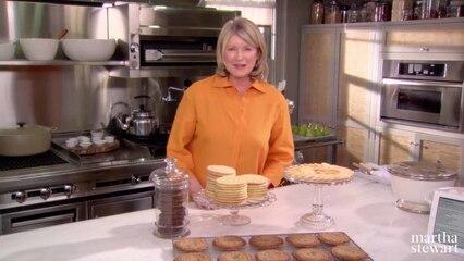 Martha Bakes: Cookies
