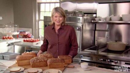 Martha Bakes: Basic Breads