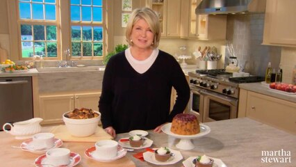Martha Bakes: Pudding