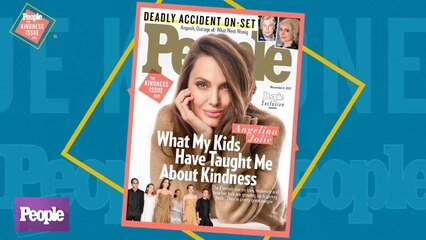 10/27/21 | Angelina Jolie Graces The Kindness Issue Cover + New Details from the 'Rust' Tragedy Investigation